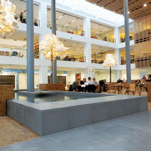Betonfliser Københavns Universitet