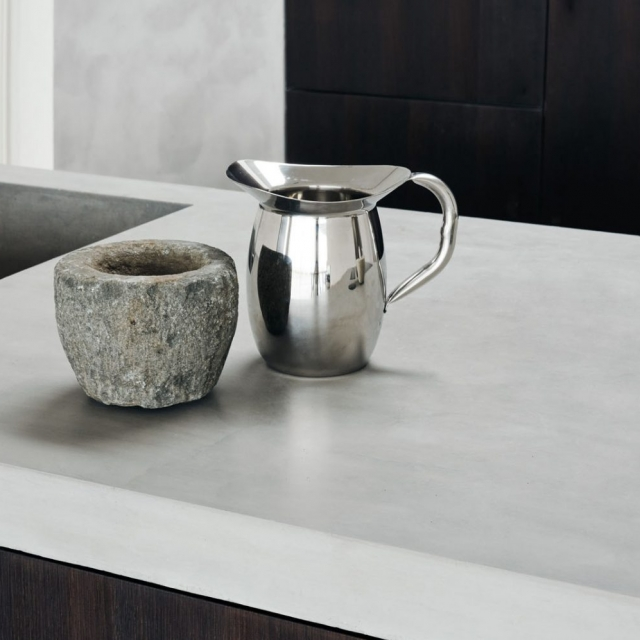 Køkkenbordplade i beton
