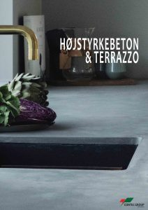 Terrazzo og beton brochure