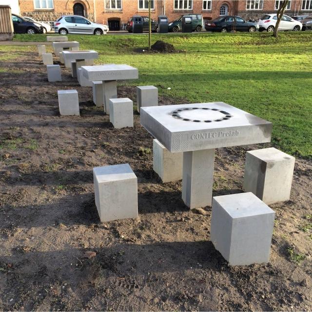 spilleborde beton