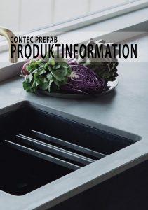 Produktinformation beton og terrazzo