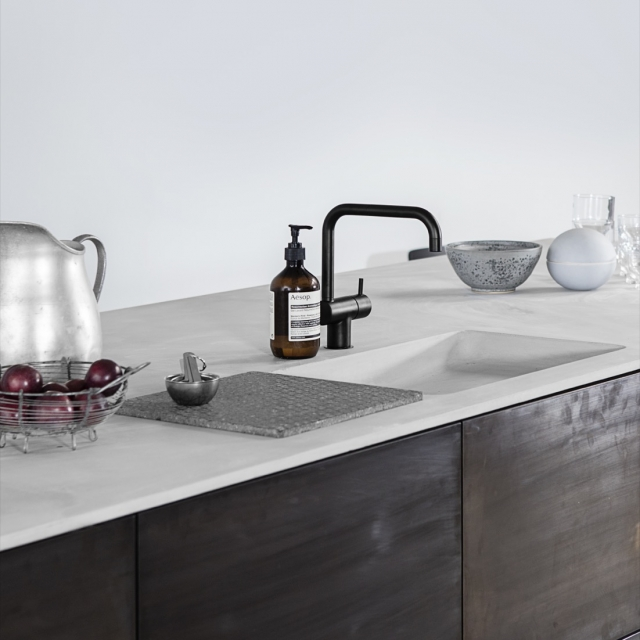 betonbordplade med vask
