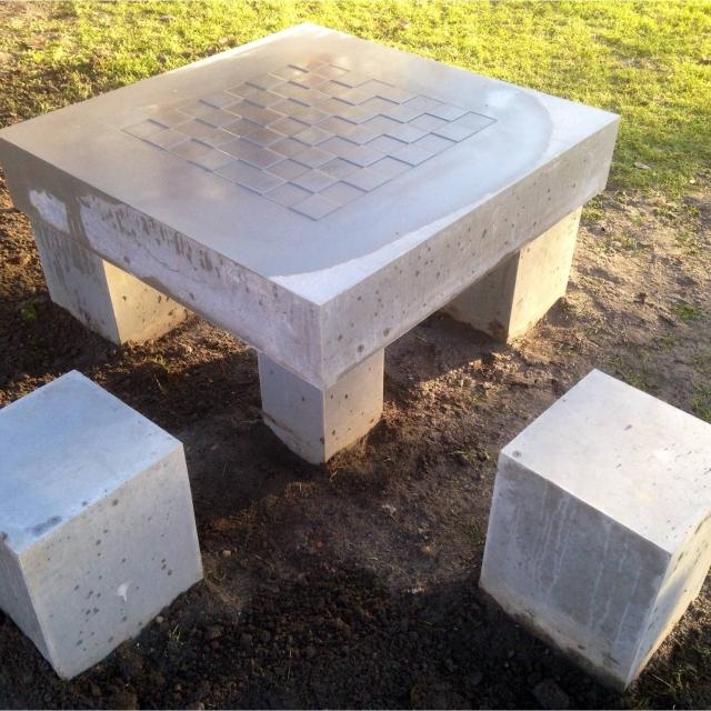 spillebord beton